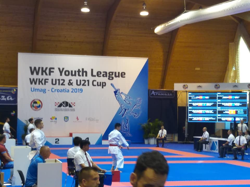 Zawody Youth League WKF U12 & U21 Cup Umag- Chorwacja